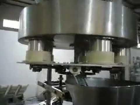 1 KG: n jauhepussi Suuri pystysuoran täytön tiivistyskone