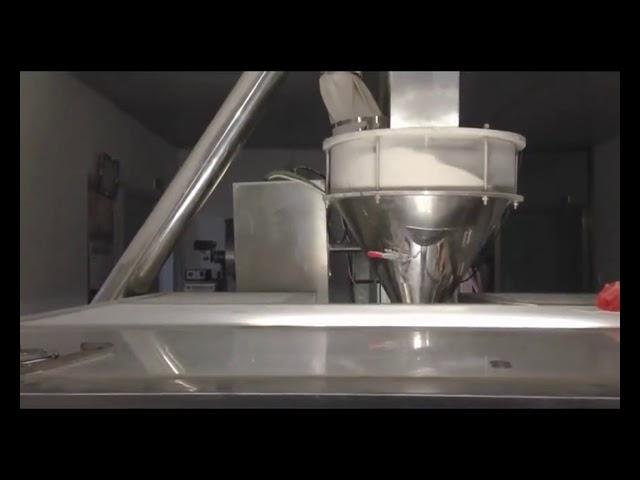 Automaattinen Rotary Premade Bag -pakkauskone maitojauhetta varten