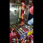 Automaattinen täyttötoiminto kolmion teepussi pakkaus kone