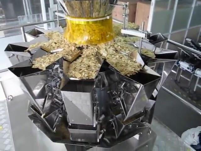 Automaattinen 2 kg: n pussipakkauskone pystysuorassa muodossa
