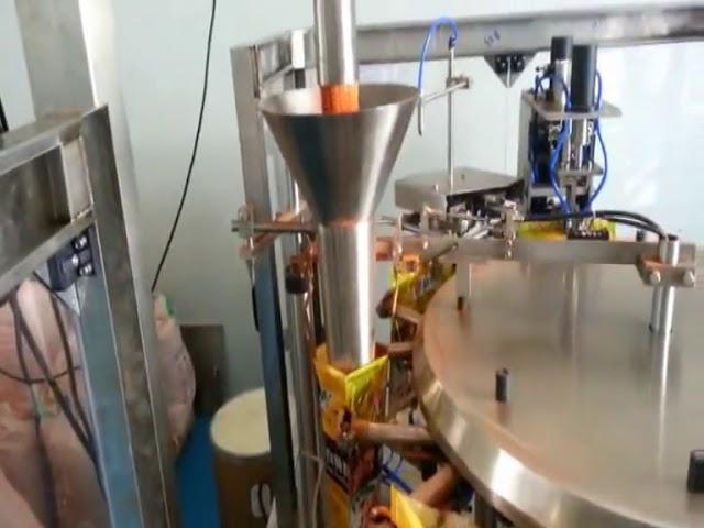 Automaattinen Premade pussi pakkaus kone maustepulveri
