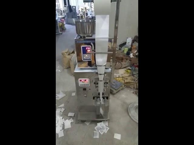 Automaattinen kvantitatiivinen teepussi pakkaus kone pystysuora automaattinen Täytä tiiviste pakkaus kone