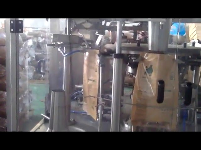 Automaattinen seisomaan pussi Premade pussi pakkaus kone
