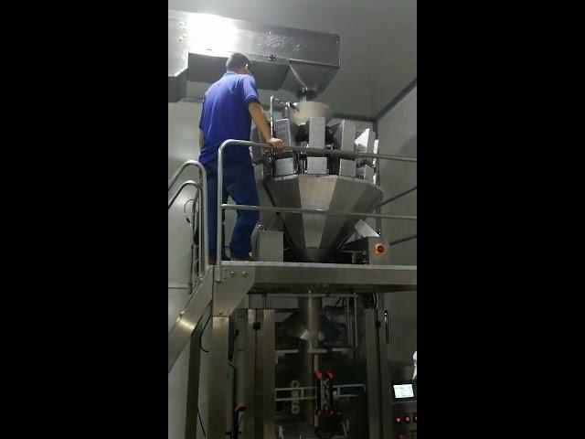 Kiina automaattinen ruoka välipaloja sokeria karkkia jauhe siemeniä pähkinä jauhe pystysuora pakkaus kone