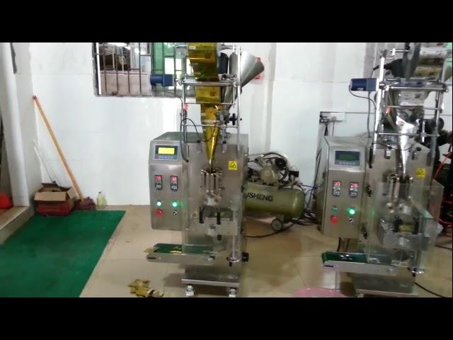 Kiina Pieni pussi kasviperäisten jauhe pakkaus kone