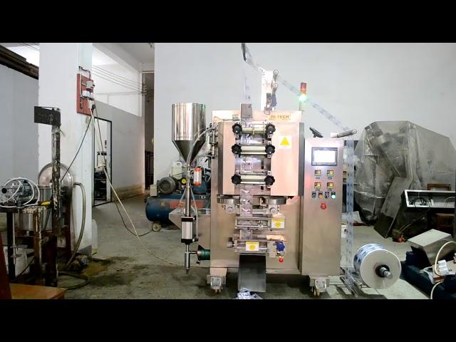 Automaattinen kastike potti pystysuora täyttävät tiiviste pakkaus kone