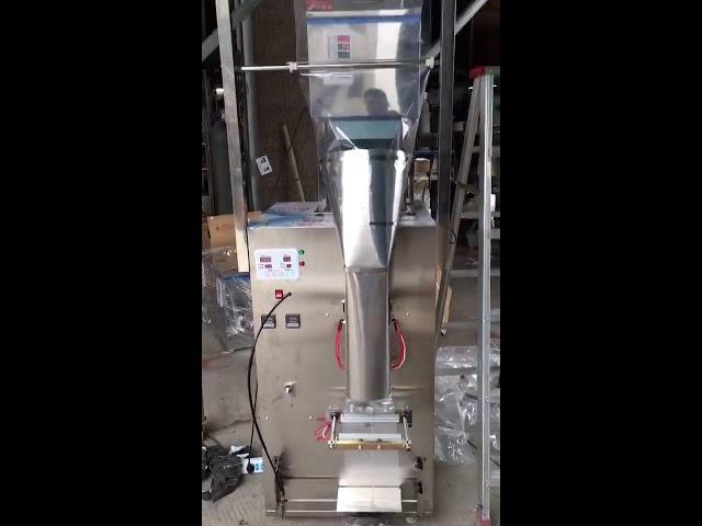 Vertikaalinen suuri kapasiteetti 100-500g: n automaattinen riisipulveripakkauskone