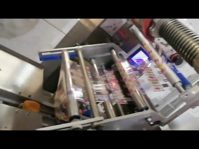Flow Wrap Hinta Automaattinen pussin vaakasuora pakkauskone