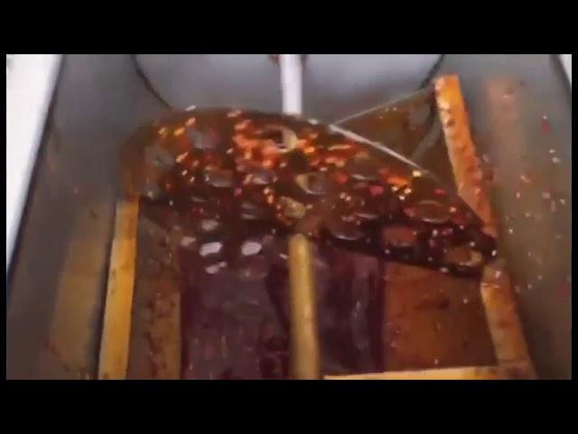 Täysi automaattinen hunajapakkaus pakkauslaite nestemäiseen ja tahnaan