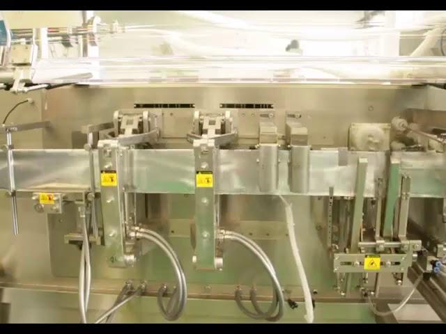 Nopea litteä annospussipullo pakkaus nestepakkauskone