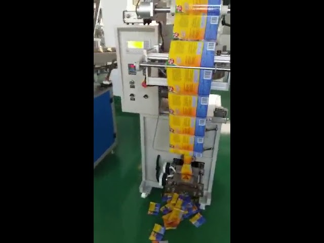 Edullinen Automaattinen Korkea hyötysuhde pieni pussi pakkaus kone mausteet jauhe