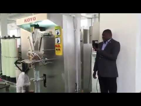 Automaattinen pystysuora pieni mittakaava muovipussi pussi nestepussin pakkaus kone