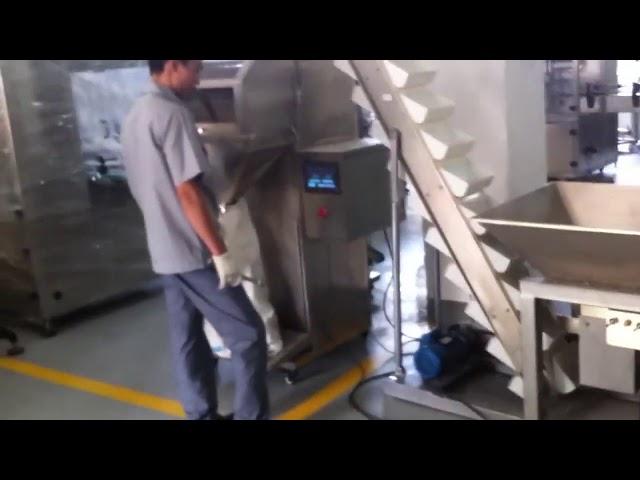 Semi Automatic Sachet Rice Pienen rakeiden pakkauskone
