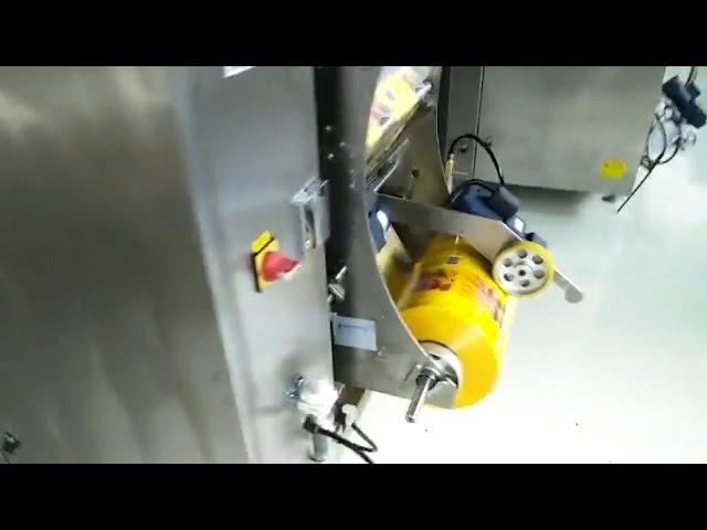 Pienyritysten automaattinen pussipakkaus pussi pakkaus kone pystysuora muoto täyttämällä tiivistys tyyny pussi pussi