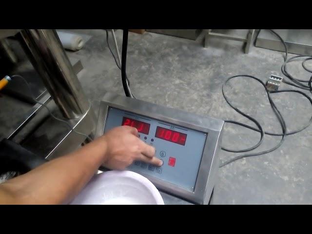 Mausteet Powder täyttö Pakkauskone Automaattinen Snus-jauhe Pienet pussit Powder Packing Machine