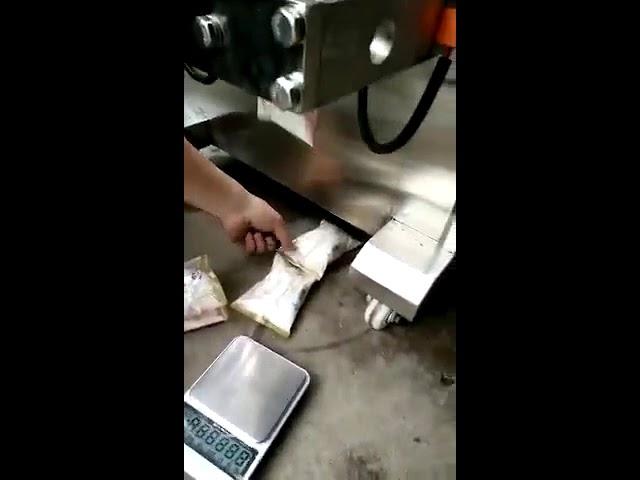 Pystysuora tyyppi automaattinen pieni pikapisara kahvipullo pussi pussi pakkaus kone